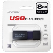 Unirex 8GB USB 3.0 Flash Drive (usfl-308s)