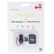 Unirex msu-082s Memory Card, Class 4, 8GB, microSDHC
