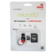 Unirex msu-325m Memory Card, Class 10, 32GB, microSDHC