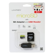 Unirex umw645m UMW Memory Card, Class 10 (UHS-1), 64GB, microSD