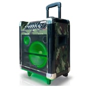 Technical Pro WASP850LABT-CAM PA Speaker System, 800 W, Bluetooth, Camouflage