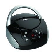 Naxa npb-240 Boombox Convenient Portable CD Player, Black