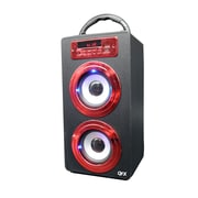 Quantum bt-140-red Bluetooth Portable Speaker, Red