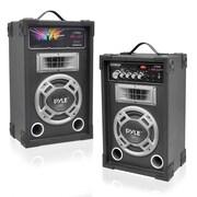 Pyle PSUFM835A PA Speaker System, 800 W, Black