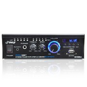 Pyle Dual Channel Power Amplifier, 240 W (pcau48bt)
