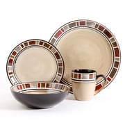 Gibson Dinnerware Set, 16 Piece, Round, Cream (86436.16)
