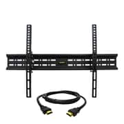 MegaMounts Tilt Wall TV Mount with HDMI Cable, 130 lbs. (gmpt646-hdmi-bndl)