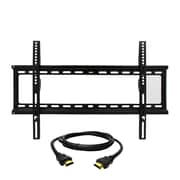 MegaMounts Fixed-Wall TV Mount with HDMI Cable, 120 lbs. (gmpf26n-hdmi-bndl)