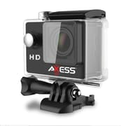 Axess CS3603-BK 5 MP Action Camera, 2.51 mm, Black