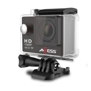 Axess CS3605-BK 12 Megapixel Action Camera, 2.65 mm, Black