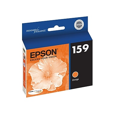 Epson 159 Orange Ink Cartridge, (T159920)
