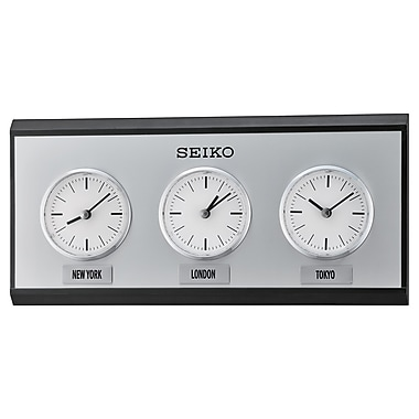 Seiko QXA623K Multi-City Clock
