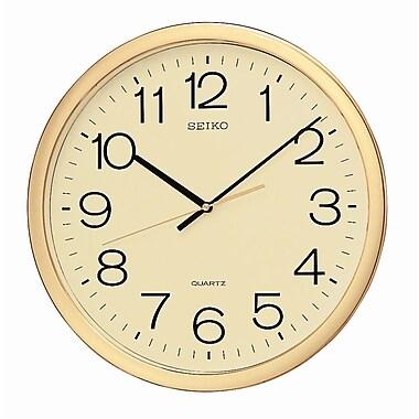 Seiko QXA041A Gold Wall Clock
