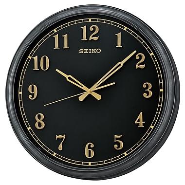 Seiko QXA632K Wall Clock, Black