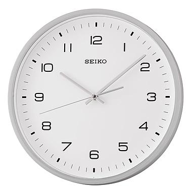 Seiko QXA661N Wall Clock, Silver