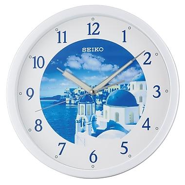 Seiko QXA595H Lumibrite Wall Clock, Sky