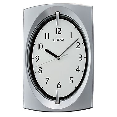 Seiko QXA519S Tonneau Wall Clock, Grey