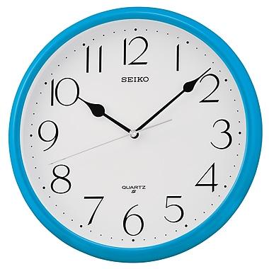 Seiko QXA651L Wall Clock, Blue
