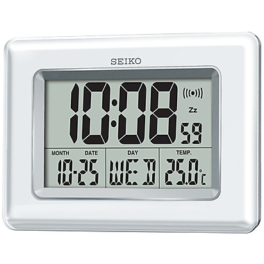 Seiko QHL058W Digital Alarm Clock