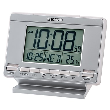 Seiko QHL061S Digital Alarm Clock