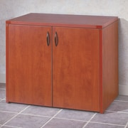 OSP Furniture Napa 2 Door Credenza; Cherry