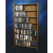 Wood Shed 700 Series 399 DVD Multimedia Storage Rack; Natural