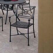 Woodard Delphi Dining Side Chair; Graphite