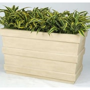 Allied Molded Products Southern Pines Rectangular Planter Box; Candy Apple