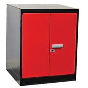 Hallowell Fort Knox Pedestal Steel Top Storage Cabinet; 24'' W
