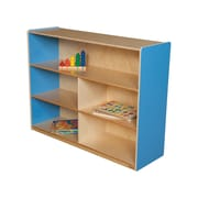 Wood Designs Versatile Storage Unit; Blueberry