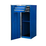 Extreme Tools 15.25'' Wide 3 Drawer Side Cabinet; Blue