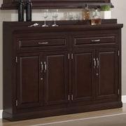 American Heritage Ricardo Bar Cabinet w/ Wine Storage