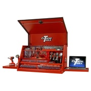 Extreme Tools Deluxe Extreme 41'' Wide 2 Drawer Top Cabinet; Textured Red