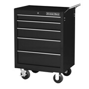 Extreme Tools 27'' Wide 5 Drawer Bottom Cabinet; Black