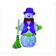 Queens of Christmas 3D Snowman Lit Christmas Decoration