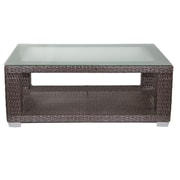 Patio Heaven Signature Coffee Table w/ Tempered Glass Top