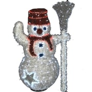 Queens of Christmas 3D LED Snowman Christmas Decoration