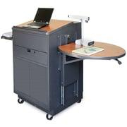 Marvel Office Furniture Zapf Laptop AV Cart; Cherry Laminate