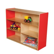Wood Designs Versatile Storage Unit; Strawberry Red