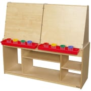Wood Designs Healthy Kids Art Center For Four