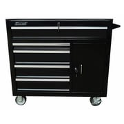Excel 41.9'' Wide 5 Drawer Bottom Cabinet