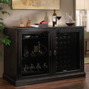 Wine Enthusiast Companies Siena 28 Bottle Single Zone Freestanding Wine Refrigerator; Nero