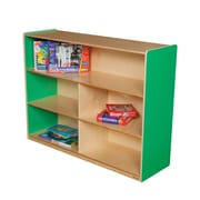 Wood Designs Versatile Storage Unit; Green Apple