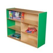 Wood Designs Versatile Storage Unit; Green Apple