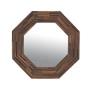 Jeffan Rosario Wood Mirror; Small