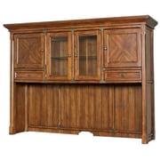 kathy ireland Home by Martin Furniture Portland Loft Office 48'' H x 70'' W Desk Hutch