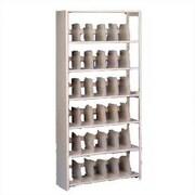 Tennsco Imperial Filing 6 Shelf Shelving Unit Starter; 76'' H x 36'' W x 15'' D