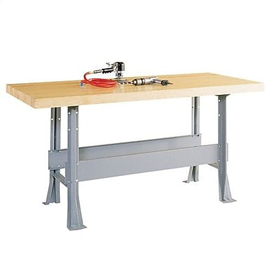 Shain Two Station Maple Top Workbench; No Vise