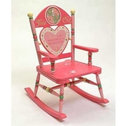 Levels of Discovery Rock A Buddies Time Out Girl Rocking Chair