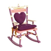 Levels of Discovery Princess Rock A Buddies Royal Kids Rocking Chair